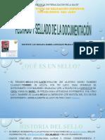 FECHADO Y SELLADO DE LA DOCUMENTACIÓN