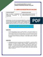 LIBRO DE REGISTRO DE SALIDAS