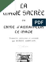 - Ambelain, Robert - Le magie secree d'Abramelin le mage