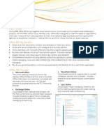 Office 365 Fact sheet