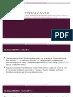 Pragmatismo y Trabajo Social