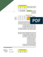 Ejercicio paso a paso - Solver y método Gráfico
