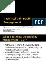 TechnicalVulnerabilityManagement