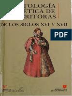 Antología poética de escritoras de los siglos XVI y XVII