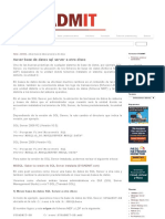 Mover base de datos sql server a otro disco _ SYSADMIT