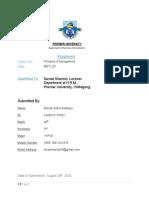 Roksar Alam Siddiqua 7507(recourse)