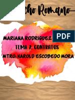 DERECHO ROMANO CONTRATOS
