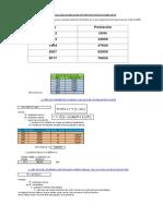 Pimer examen - calculo-de-la-poblacion-futura-Unsaac