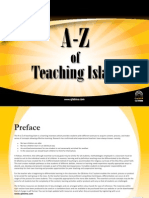 A-Z of teaching Islam