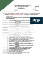 module exam PD