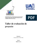 Informe evaluacion de proyecto 2.0