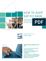 Audit-SAP-Basis-Course