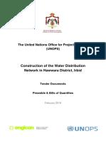 Water distribution pipe network in Hawwara-Preambles & BOQ.pdf