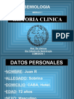 HistoriaClinica.ppt (Semiologia Medica)