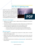 2.Issue No. 06 - 12-13-2018 - Contractor Fatality Due to Lightning Strike