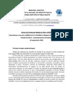 COVID-19-A douasprezecea Evaluare Rapida de Risc a ECDC _RRA_24 septembrie 2020