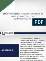 ACI318-19-TALK-PART-2-Nov-14-2019 STRUCTURAL DESIGN HIGHLIGHTS Of ACI 318-19.pdf