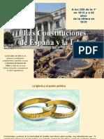 La Constit.España y la Iglesia