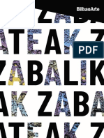 Catálogo 'Ateak Zabalik / Puertas Abiertas' BilbaoArte 2020