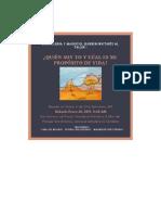 WORKBOOK QUIEN SOY YO Y CUÁL ES MI PROPÓSITO DE VIDA.pdf