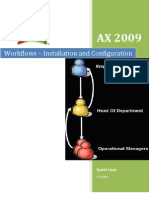 Workflows - Installation and Configuration 2009