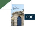Roland Barthes-Leçon doc étudiants.