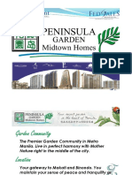 Peninsula Garden Midtown Homes Molave Tower (Tower A or Tower I)