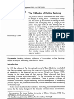 Diffusion of Online Banking