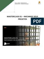 MASTERCLASS 01 - Iniciando seus projetos