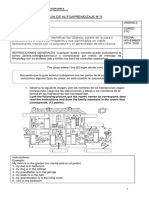 Guía de trabajo domiciliario de Inglés para 5° básico