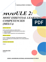 Module 2 Study Notebook