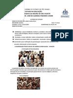 7ºS ANOS A DIVERSIDADE ÉTNICO-RACIAL NA AMÉRICA PORTUGUESA 13 A 16 DE OUTUBRO