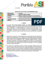 Fallo Primera Instancia - Jonatan Tamayo Perez