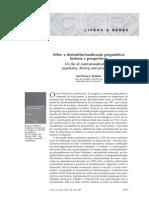 VENÂNCIO 2007 - Sobre a desinstitucionalização psiquiátrica