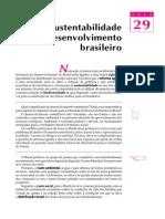 29 - A sustentabilidade do desenvolvimento brasileiro