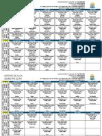 Química - Araguaína - Horário 2019-1 Atualizado 30-11