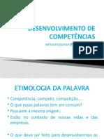 Desenvolvimento de competências