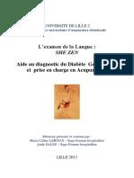 LEROUX_SALES_examen langue-Diabete
