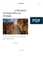 30 Habits and Mindsets of People Who are Unhappy2