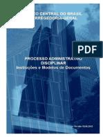 PAD - bacen-processoadministrativodisciplinar-instrucoesemodelosdedocumentos.pdf