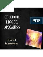 ESTUDIO DEL LIBRO DE APOCALIPSIS - CLASE N° 4 ENVÍO