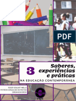 Saberes, experiencias e praticas na educação contemporânea.