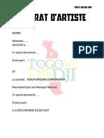 CONTRAT D'ARTISTE-1