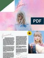 Lover - Digital Booklet =)