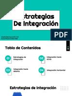 Estrategias de Integración Martinez G, Pinzon K