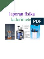 Laporan.fisika - Kalorimeter