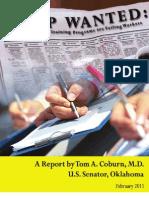 Final Coburn Job Training Report_02082011