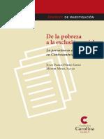 Perez Sains y Mora 2006 De la pobreza a la exclusion social