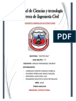 C HIDRAULICO EN ESTRCTURAS
