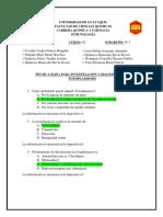 cuestionario toxoplasmosis